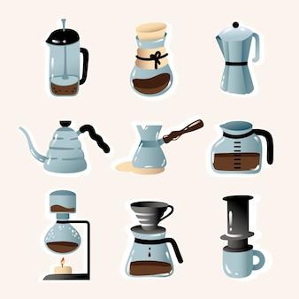 Methoden voor het zetten van koffie