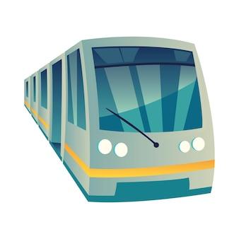 Metro openbaar vervoer stad
