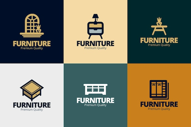 Meubels logo collectie