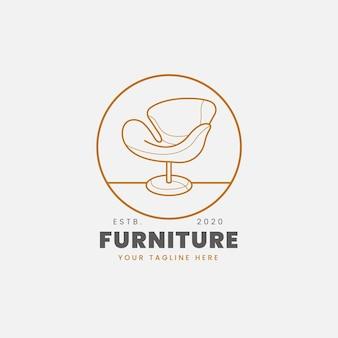 Meubels logo concept