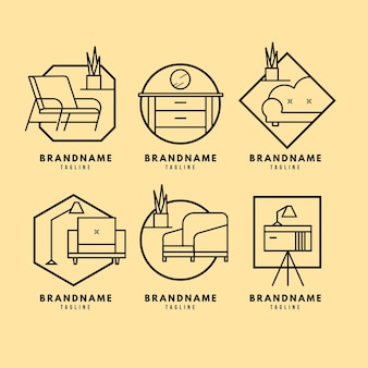 Meubels logo pack