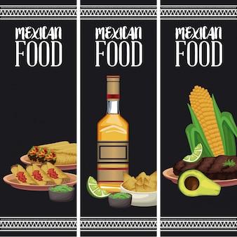 Mexicaans eten brochure