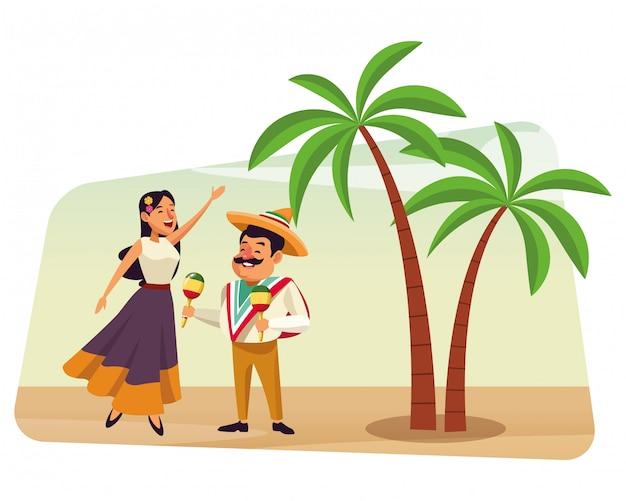 Mexicaans eten en traditionele cultuur
