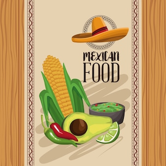 Mexicaans eten menu