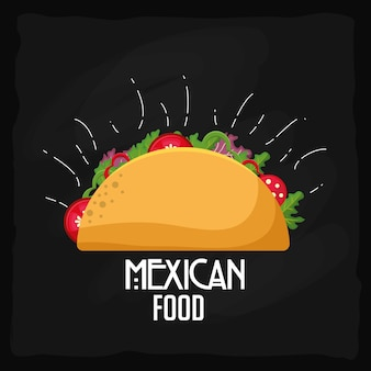 Mexicaans eten ontwerp