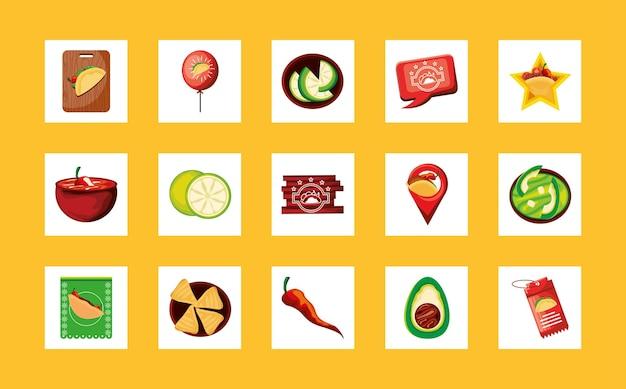 Mexicaans eten taco's