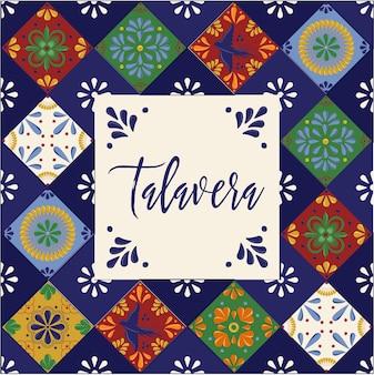 Mexicaans talavera-patroon