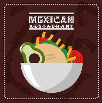 Mexicaans voedselontwerp