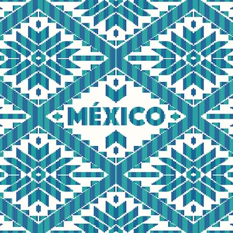 Mexicaanse stijl patroon