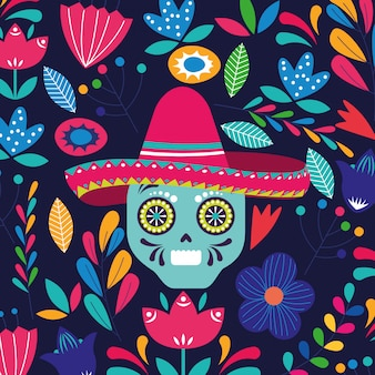 Mexico cartoons kaart