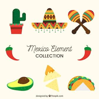 Mexico element collectie