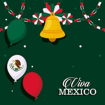 Mexico onafhankelijkheidsdag poster