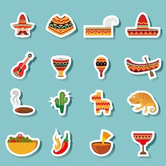 Mexico pictogrammen