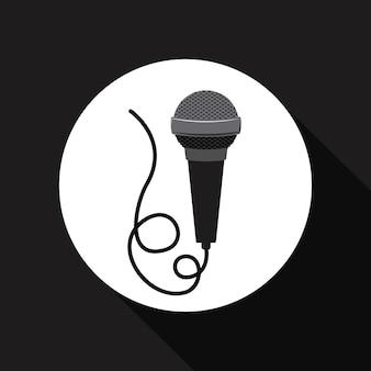 Microfoon pictogram