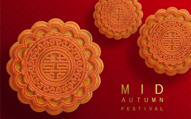 Mid autumn festival illustratie