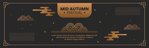 Mid-herfst banner