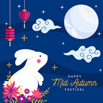 Mid-herfst festivalthema