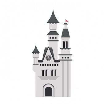 Middeleeuws kasteelgebouw