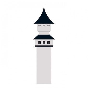 Middeleeuwse kasteeltoren