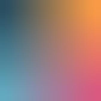 Middernachtblauw, oranje, blauwgrijs, warmroze gradiëntbehangachtergrond