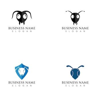 Mier logo sjabloon illustratie