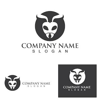 Mier logo sjabloon vector illustratie ontwerp
