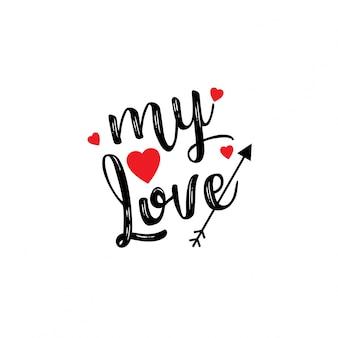 Mijn geliefde