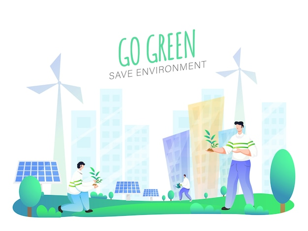 Milieu concept opslaan