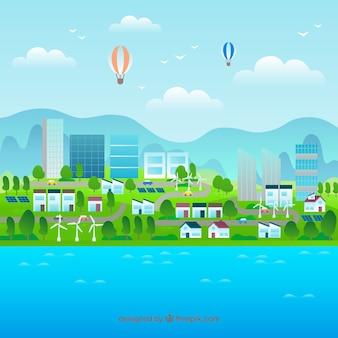 Milieu en ecosysteemconcept