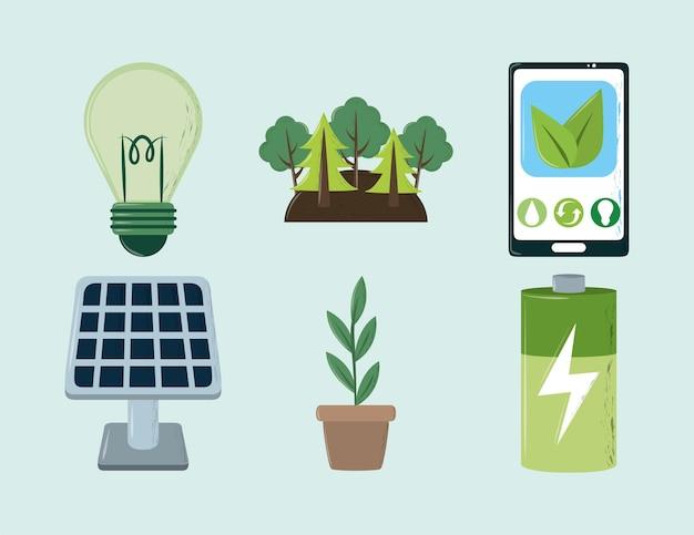 Milieu- en energieset