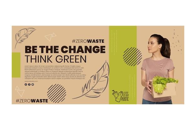 Milieu horizontale banner