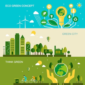 Milieubescherming concept in 3d isometrische platte ontwerp