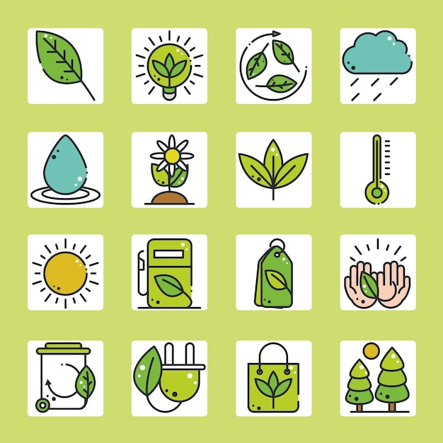 Milieuvriendelijk thema