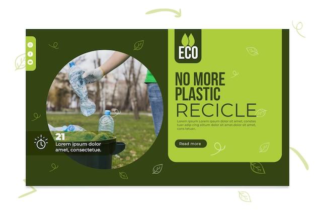 Milieuvriendelijke banner