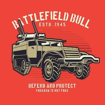 Militair vrachtwagenpistool