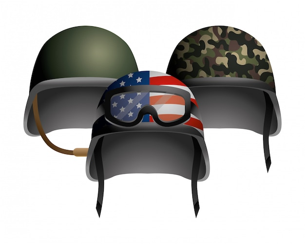 Militaire helm