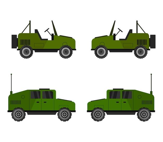 Militaire jeep set