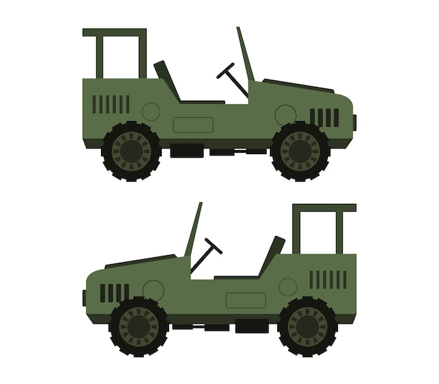 Militaire jeep
