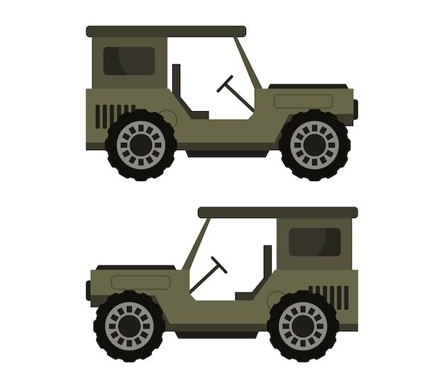 Militaire jeep