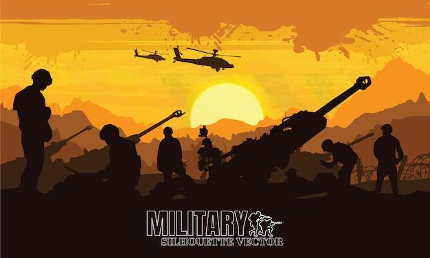 Militaire, legerachtergrond.