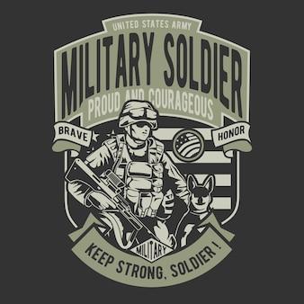 Militaire soldaat