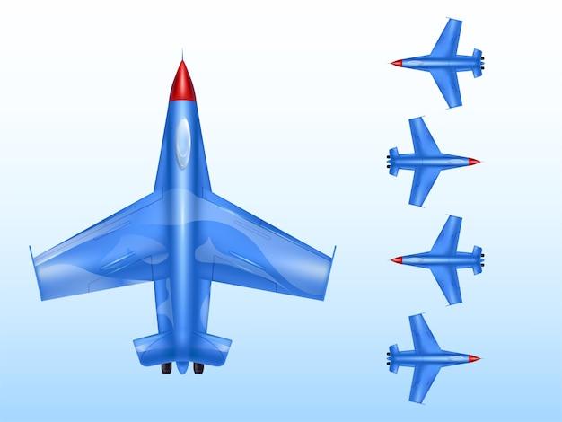 Militaire vliegtuigen van oorlog in oorlogstijd en gevechtsvliegtuig.
