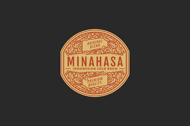 Minahasa cold brew-koffiekleur
