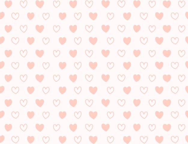 Mini hart patroon achtergrond.