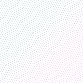Minimaal diagonaal zigzagpatroonontwerp