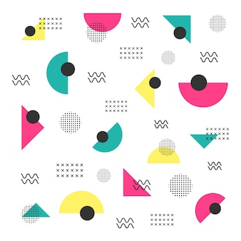Minimaal hipster patroon