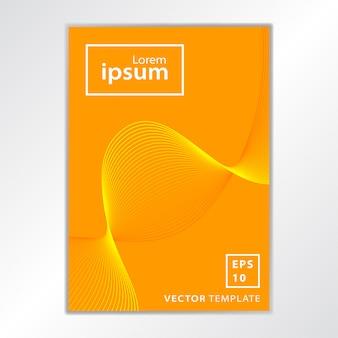 Minimaal zakelijk brochure-omslagontwerp
