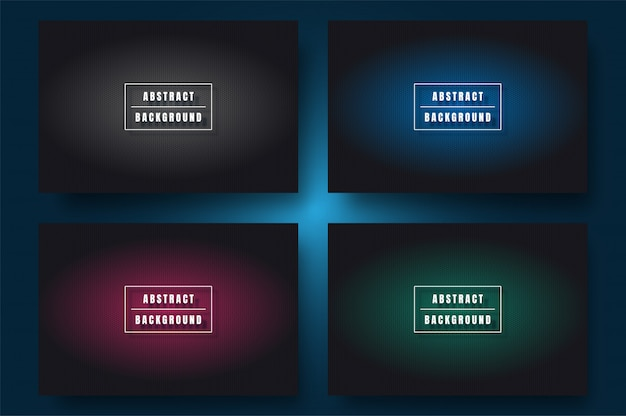 Minimale abstracte achtergrond met kleurovergang