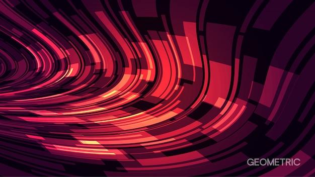 Minimale abstracte geometrische achtergrond