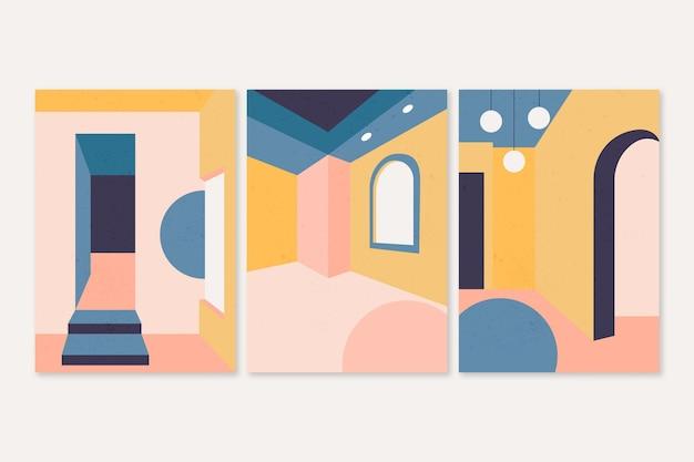 Minimale architectuur omvat ontwerp